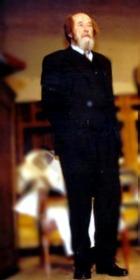 Александр Солженицын - лауреат Государственной премии за достижения в области гуманитарной деятельности