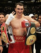 Владимир Кличко отстоял титул чемпиона мира в супертяжелом весе по версии IBF