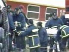 В Греции пассажирский поезд столкнулся с грузовым составом - несколько десятков раненых