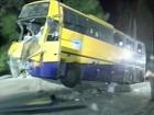 Крупное ДТП в Крыму - разбился автобус с туристами