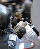 Столкновения с московским ОМОНом пикетчикам удалось избежать