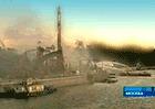 Пожар в складском ангаре на территории парка им. Горького ликвидировали за час