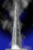 """Началось строительство башни """"Россия"""" - самого высокого здания Европы"""