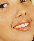 Красивые зубы - блестящие