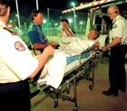 Незадачливый австралиец выжил после падения с 9-го этажа в одних трусах