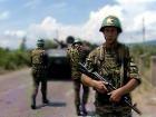Противостояние российских миротворцев и грузинского спецназа в районе села Ганмухури