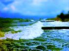 Во время шторма на Черном и Азовском морях потерпели крушение несколько судов