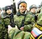 Служба в армии – дело женское!
