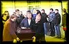Геннадий Бачинский похоронен сегодня на Троекуровском кладбище