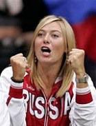Мария Шарапова – победительница турнира «Большой шлем»