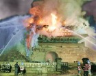 В Сеуле пожар уничтожил национальный символ Южной Кореи