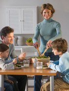Совместная трапеза укрепляет семью