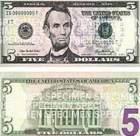 В обращении появилась новая $5 банкнота
