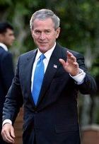 На Джорджа Буша одели «косуху»