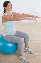 Физическая активность матери – залог благополучного рождения малыша