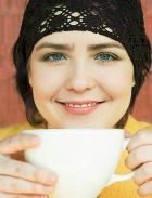 Ослепительная улыбка… от кофе