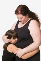 У полных мам – ещё более полные дети