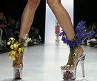 Высокая мода, потому что каблуки высокие…