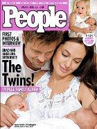 Долгожданные снимки детей Анджелины и Брэда появились на обложках журналов