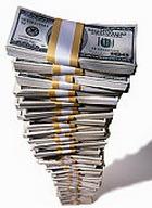 Курс доллара снова упал