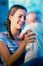 Ранее материнство чревато депрессией и низким IQ у детей