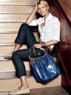 Гвинет Пэлтроу с любимыми сумками от «Tod's»