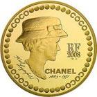 Монеты в честь Коко Шанель