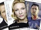 Выпущены позолоченные марки с изображением австралийских актёров