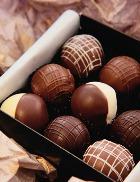 Только чёрный шоколад!