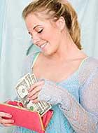 Деньги в крупных купюрах потратить сложнее