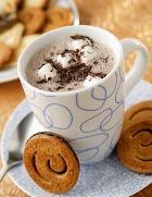 Горячий шоколад полезнее твёрдого