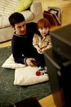 Телевизор мешает развитию детской речи