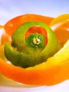 Водные стоки можно чистить апельсиновыми корками!