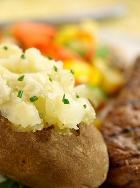Варёный картофель делает талию тонкой