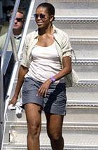 Шокирующий наряд Мишель Обамы