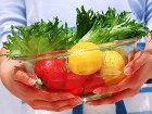 Ешь овощи и фрукты, становись умным!