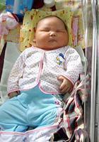 Родился самый большой ребёнок Индонезии