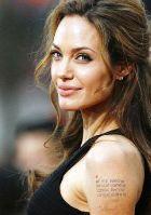 Анджелина Джоли – законодательница моды на татуировки?