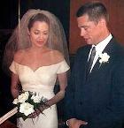 Брэд Питт и Анджелина Джоли сыграли свадьбу