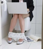 В Нью-Йорке открылся туалет-клуб