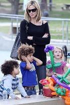 Идеальная семья Хайди Клум