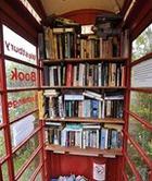 Библиотека… в  телефонной будке
