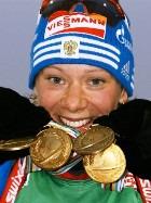 Ольга Зайцева – бронзовая победительница второго этапа Кубка мира по биатлону