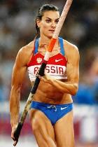 Самая лучшая спортсменка года – россиянка Елена Исинбаева