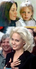 Анджелина Джоли от рождения блондинка?