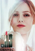 Лицо помады Rouge Coco бренда Chanel - Ванесса Паради