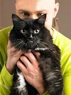 «Озабоченность» мужчины с лёгкостью выдаст кошка