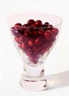 Клюквенный сок поспорит с красным вином