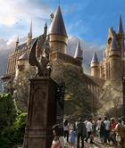 Сгорела школа волшебства Гарри Поттера