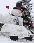 Как правильно слепить снеговика?